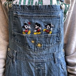 🔗90's Vintage Mickey Mouse Overalls
